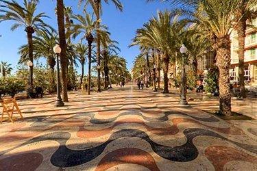 Explanada di Spagna di Alicante