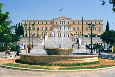 Piazza Syntagma ad Atene