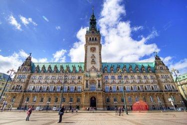 Municipio di Amburgo (Rathaus)