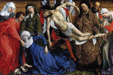 La deposizione della croce di Rogier Van Der Weyden