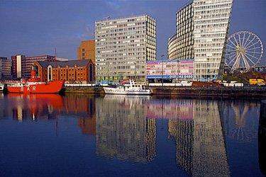 Albert Dock a Liverpool