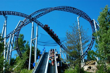 Tusenfryd Amusement Park a Oslo