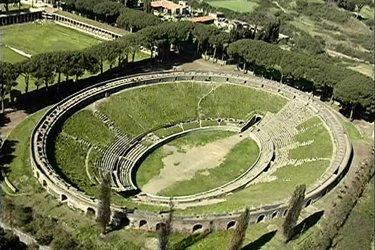 L'Anfiteatro di Pompei
