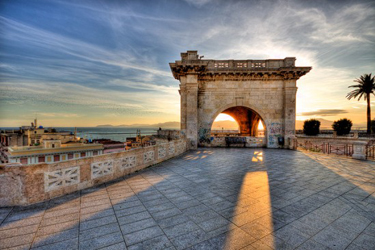 Il Bastione di Saint Remy a Cagliari