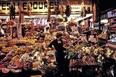 Il Mercato della Boqueria di Barcellona