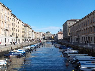 Borgo Teresiano a Trieste