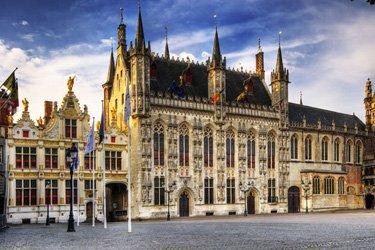 Il Burg di Bruges