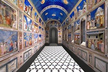 La Cappella degli Scrovegni a Padova