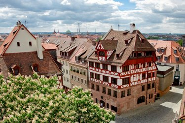 La casa di Albrecht Dürer a Norimberga