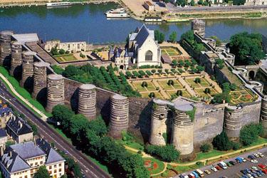 Il Castello di Angers nella Loira