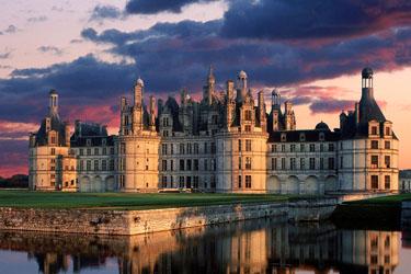 Il Castello di Chambord nella Loira