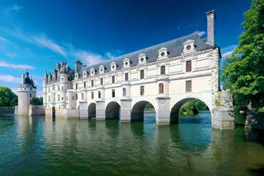 Il Castello di Chenonceau nella Loira