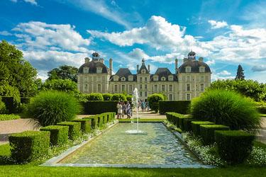 Il Castello di Cheverny nella Loira