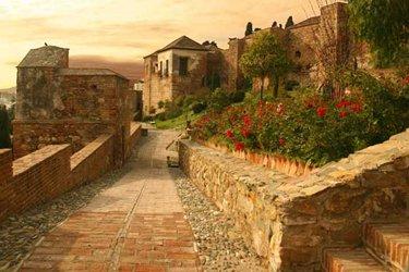 Il Castello di Gibralfaro a Malaga