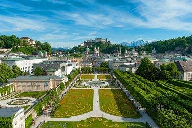 Il Castello Mirabell a Salisburgo