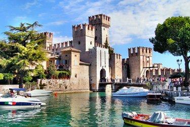 Il Castello di Sirmione sul Lago di Garda