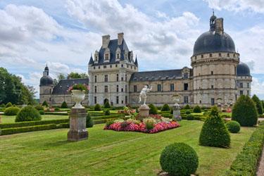 Il Castello di Valencay nella Loira