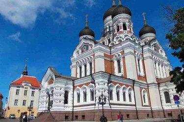 La Cattedrale Ortodossa di Tallinn