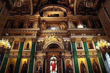 La Cattedrale di Sant'Isacco a San Pietroburgo