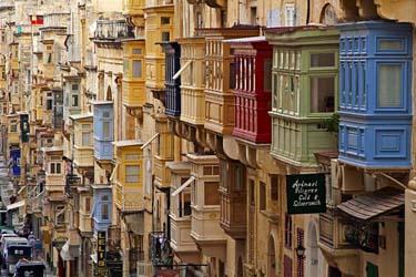 Il centro storico di La Valletta