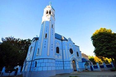 La Chiesa Blu a Bratislava