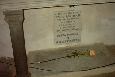 La chiesa di Dante e Beatrice a Firenze