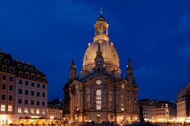 La chiesa di Nostra Signora a Dresda