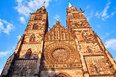 La chiesa di San Lorenzo a Norimberga