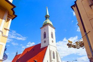 La Chiesa di San Martino a Bratislava