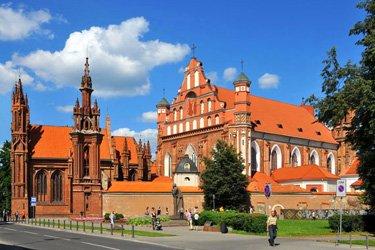 La Chiesa di Sant'Anna a Vilnius