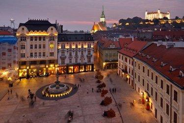 La Città Vecchia di Bratislava (Staré Mesto)