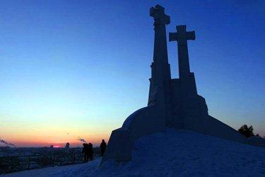 La Collina delle Tre Croci a Vilnius
