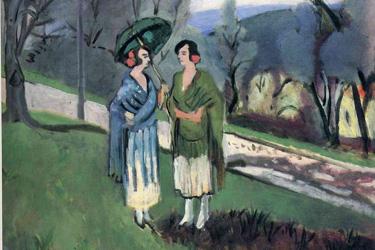 Conversazione sotto l'ulivo di Matisse