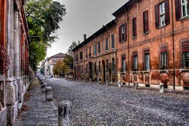 Corso Ercole d'Este a Ferrara