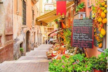 Corso Umberto I a Taormina
