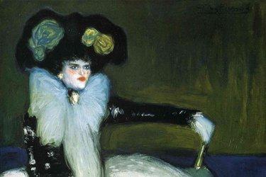 Donna in blu di Picasso