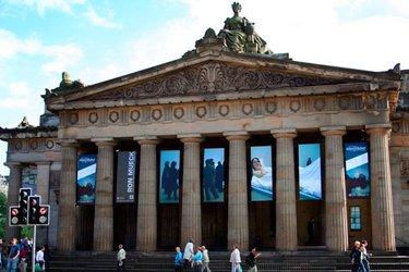 Le Gallerie Nazionali Scozzesi a Edimburgo