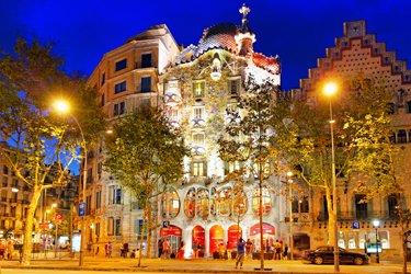 Le opere di Gaudì a Barcellona