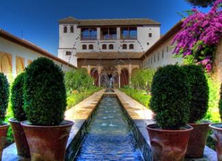 Il Generalife a Granada