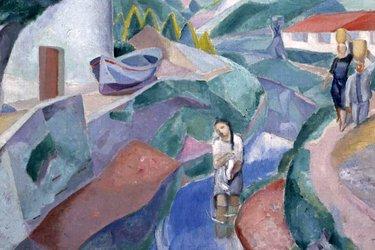 Gioia del paesaggio basco di Daniel Vázquez Díaz