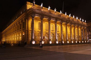 Il Grand Theatre di Bordeaux