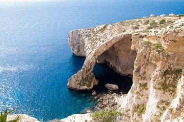 La Grotta di Calipso a Gozo, Malta