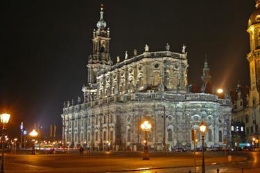 La Hofkirche di Dresda