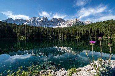 Lago di Carezza a Bolzano