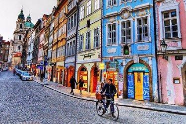 Quartiere di Mala Strana a Praga