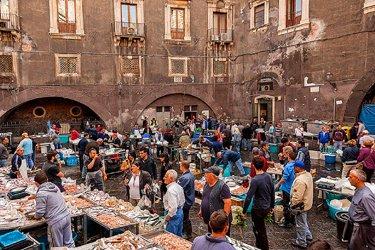 I mercati popolari di Catania