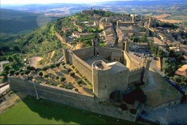 Montalcino a Siena