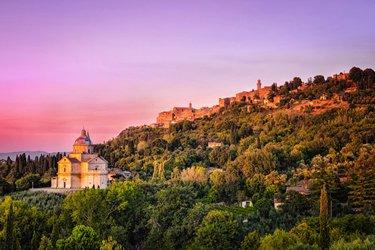 Montepulciano, dintorni di Siena