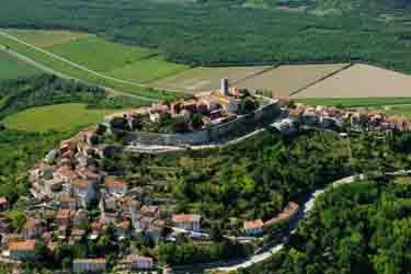 Montona (Motovun) in Istria