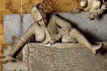 Monumento a Cecco di Sangro nella Cappella Sansevero